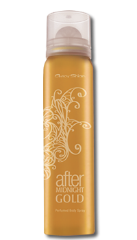 After Midnight Gold Perfumed Body Spray