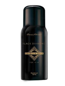 Black Diamond Premium Noir Antiperspirant Spray