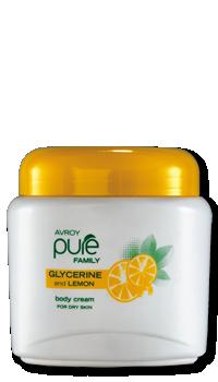 Glycerine & Lemon Body Cream