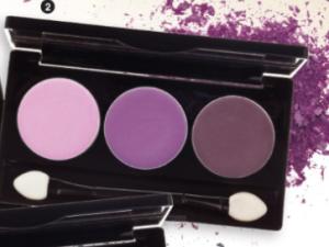 Lasting Colour Matte Eyeshadow Trio – Berry Beautiful