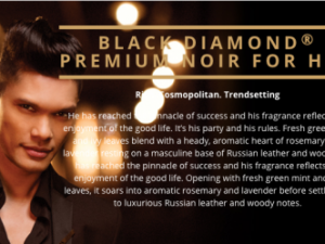 Black Diamond Premium Noir For Him