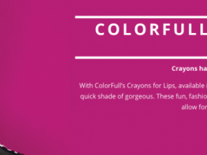 Colorfun Crayons for Lips