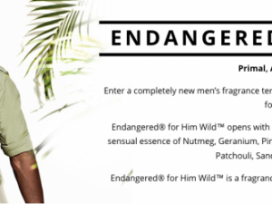 Endangered for Him Wild